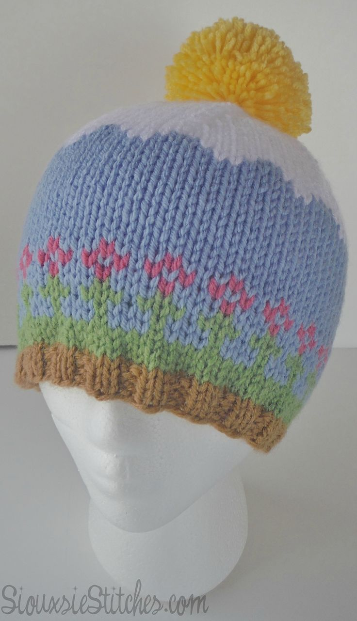 448 Best Images About Knitting Adult Hats On Pinterest