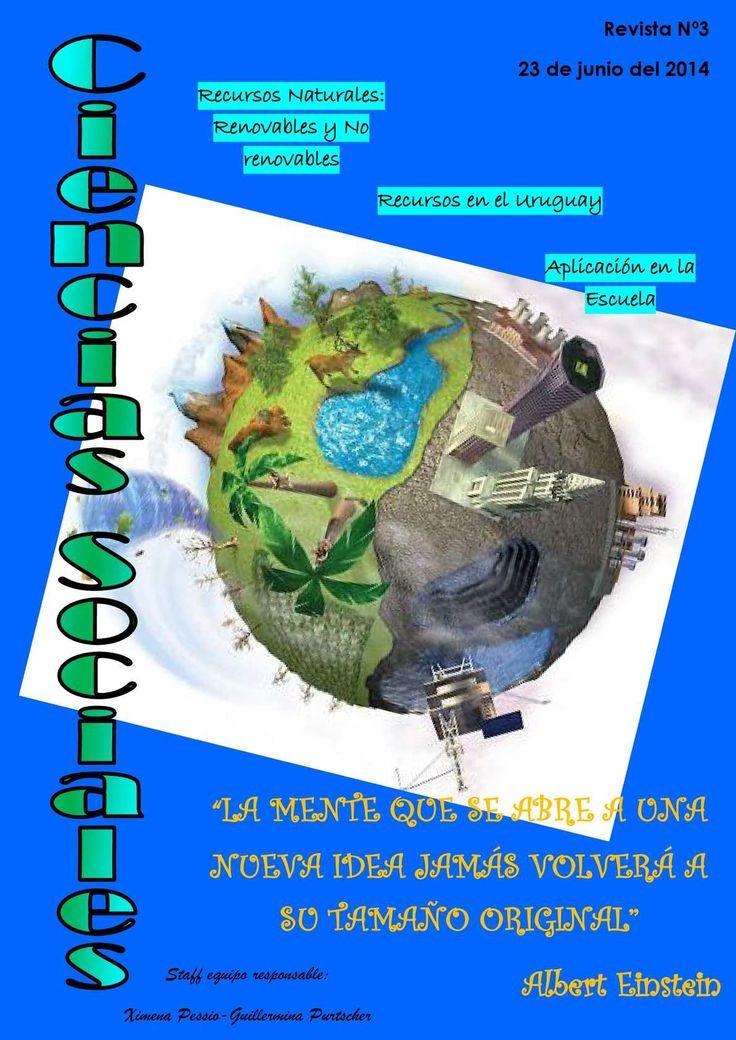 1 Revista Nº3 23 de junio del 2014 Recursos Naturales: Renovables y No…