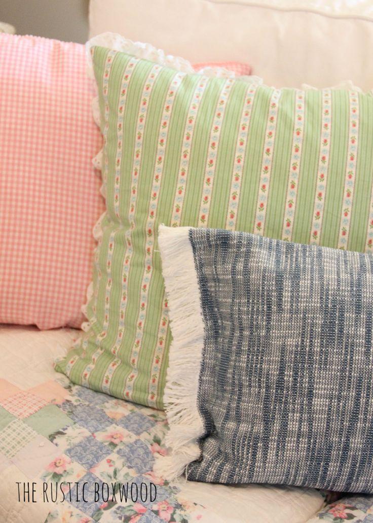 diy killim pillow cover using unexpected items & 82 best Pillow Talk images on Pinterest | Cushions Diy pillows ... pillowsntoast.com