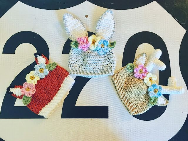 Flower Crown Animal Hats