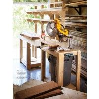 A Better Miter Saw Stand | ShopWoodworking
