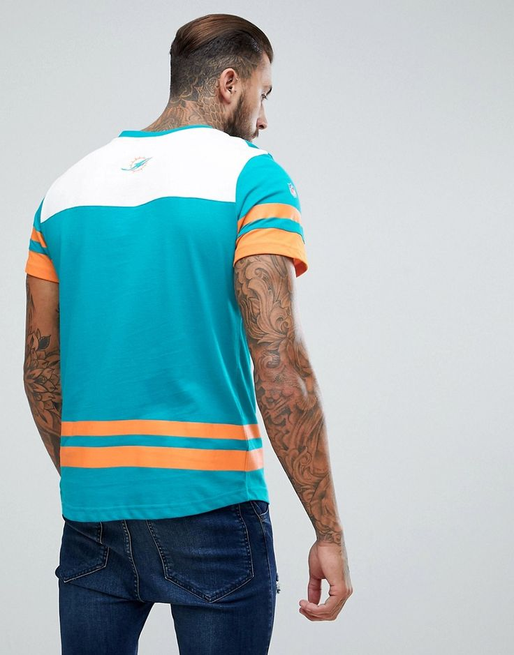 Majestic Oversized Miami Dolphins Team T-Shirt - Green