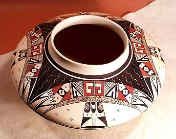Hopi Pueblo Pottery | Native American Indian Art Pottery | Desert Pottery