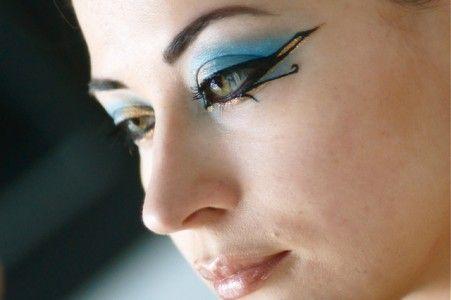 makeup egyptien egypte