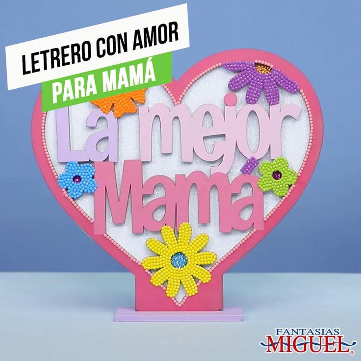 ¡Decora a tus gusto este bonito letrero con un mensaje especial para la mejor mamá! Te damos una idea, tú dale vuelo a tu creatividad. Mayo, Gifts For Mom, Origami, Costumes, Craft Videos, Creative Crafts, Best Mom, Mom Presents, Presents For Mom