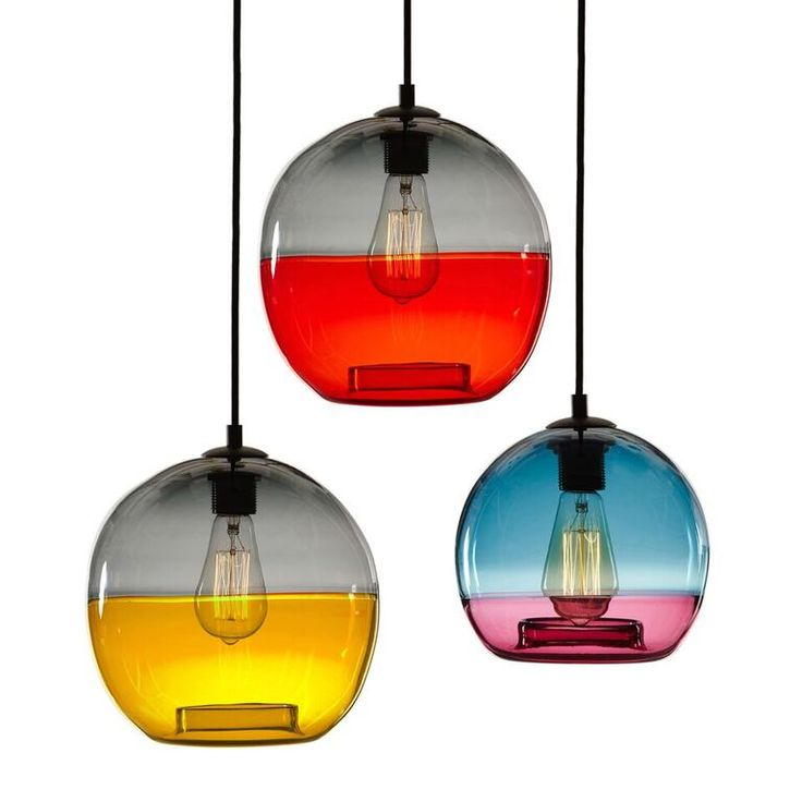 -------ORB INCALMO------- The Incalmo pendant is handblown using 16th Century Italian technique where two pieces of coloured glass is blown to appear as one piece. You have the option of choosing two different colours from our selection of twelve.