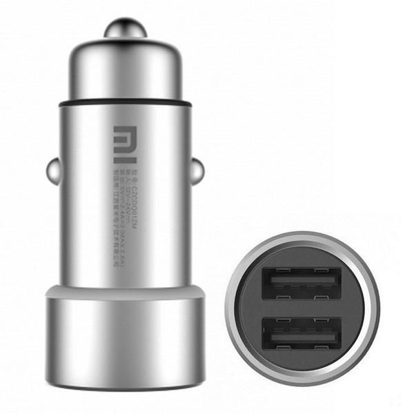 Original Xiaomi Fast Charging Car Charger for Power Supply  Features:● Dual USB OutputCharging two devices simultaneously, meets your multi-devices charge needs.● Fast ChargingA. Support 5V / 2.4A max fast charging for single USB output.B. Support 5V / 3.6A max fast charging for two USB output.● Intelligent identification and automatical output power adjustment, strong compatibilityA. Xiaomi car charger according to the charged devices, intelligently adjust the output power, meets the…