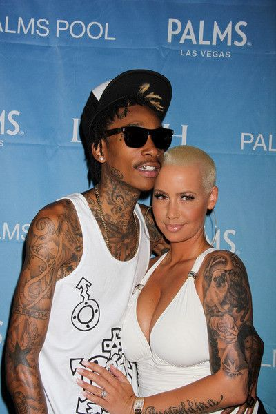 Wiz Khalifa And Amber Rose Marry In Private, Plan To Have A Bigger ...