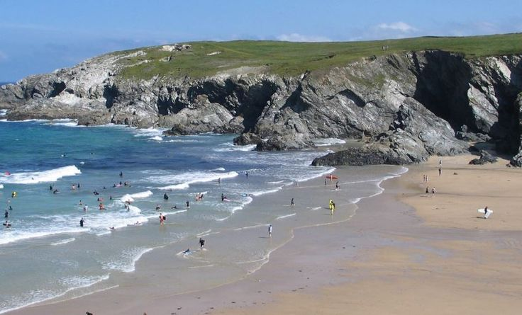 Treworgans Cubert, Newquay, Cornwall, UK, England. Campsite. Camping. Outdoors. Holiday. Outdoors Holiday. Travel.