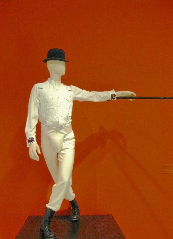 stanley kubrick exhibit L.A  - A Clockwork Orange