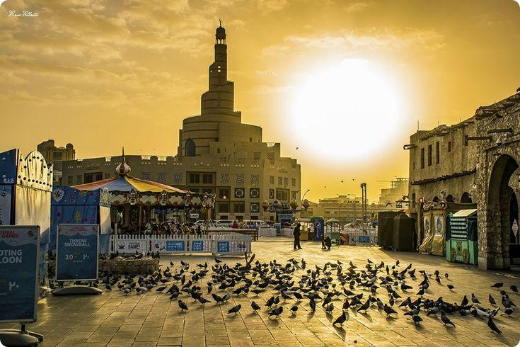 Souq Waqif Sunset, Doha