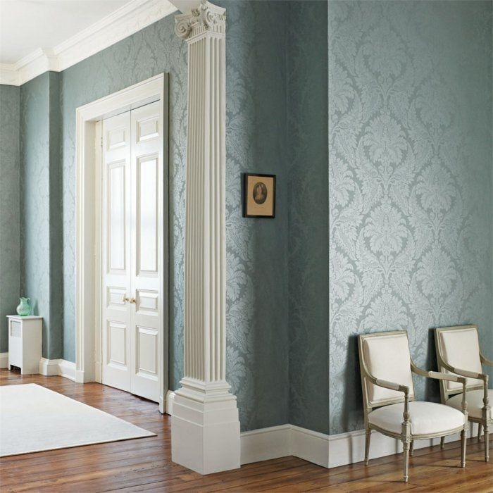 die besten 25 tapeten ideen ideen auf pinterest. Black Bedroom Furniture Sets. Home Design Ideas