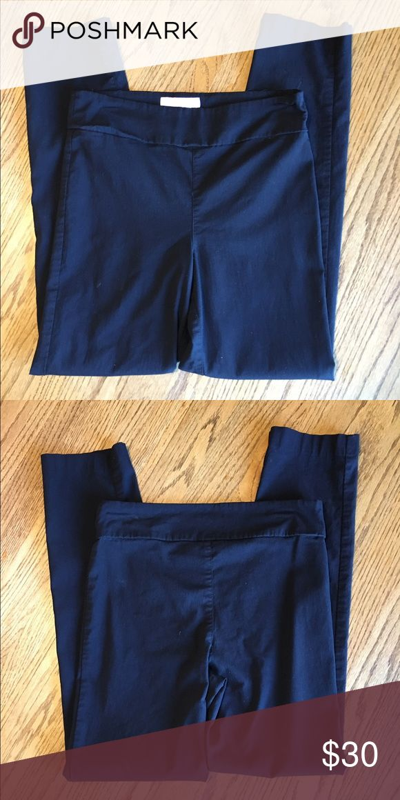 Pull on straight leg dress pants Black pull on straight leg dress pants from Stitch Fix. Margaret M Pants Straight Leg