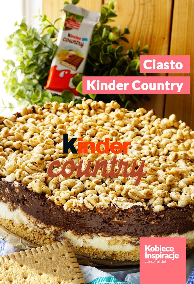 Ciasto Kinder Country