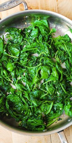 Best cooked spinach, with garlic, freshly squeezed lemon juice, and topped with lemon zest (peel). Tasty, quick, healthy, and beautiful side dish! Paleo, vegetarian, vegan, and gluten free! Steakhouse quality recipe!