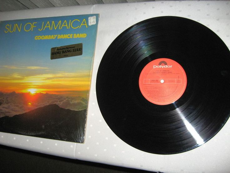 Goombay Dance Band ‎- Sun Of Jamaica CANADA 1981 Lp vg++