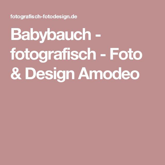 Babybauch - fotografisch - Foto & Design Amodeo
