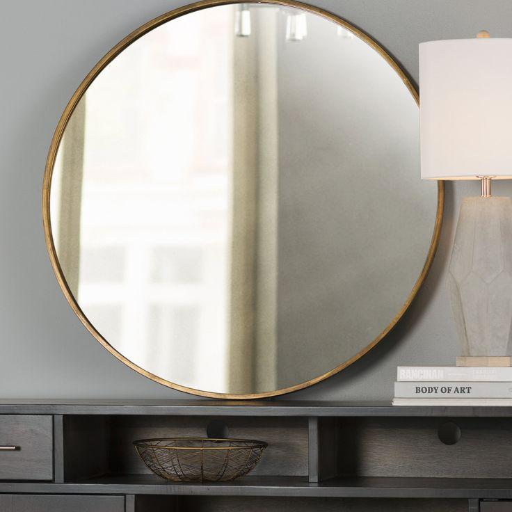 Loretta Round Oversized Wall Mirror