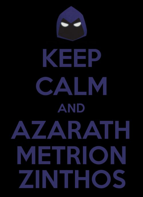 Azarath metrion zynthos