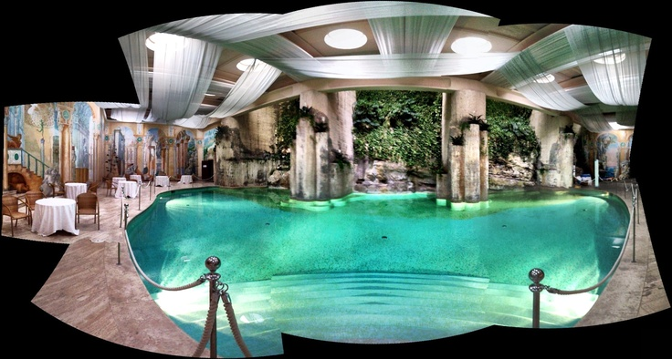 Hilton sorrento palace indoor pool sorrento italy for Indoor swimming pools in mesa az