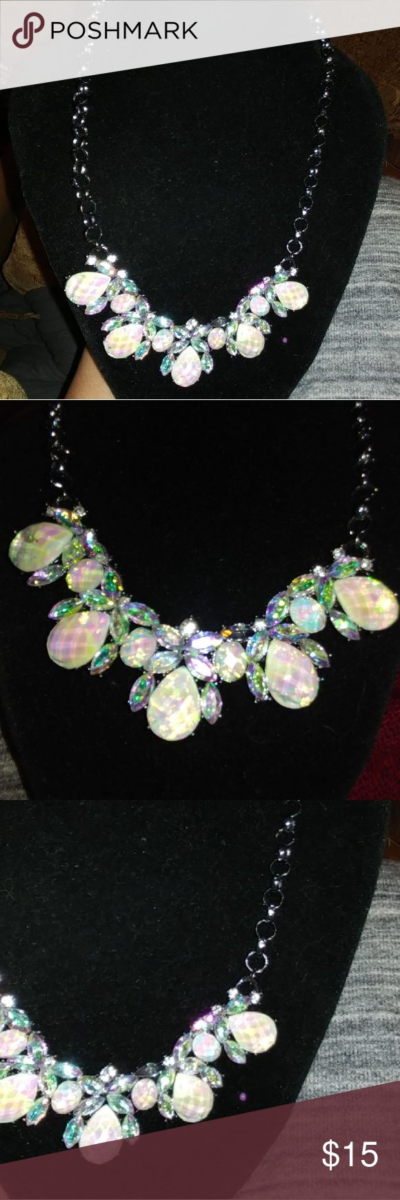 tornasol aurora borealis necklace from Ashley Coop tornasol aurora borealis necklace from ashley cooper Size approximate 16 inches Ashley Cooper Jewelry Necklaces