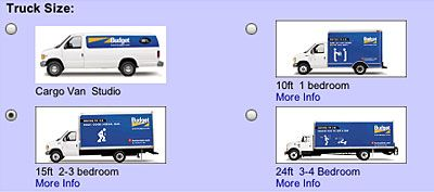 Moving is stressful enough without having to wait to know where your truck will be available. If you rent from the competition, you could end up somewhere that is not convenient or close to you at all. In fact, with some other rental companies, you may not find out the equipment pick-up location until the evening prior to your move. Who needs that stress?  Pinned by www.movinghelpcenter.com Get 15% discount on Budget Rental Trucks in our website =)