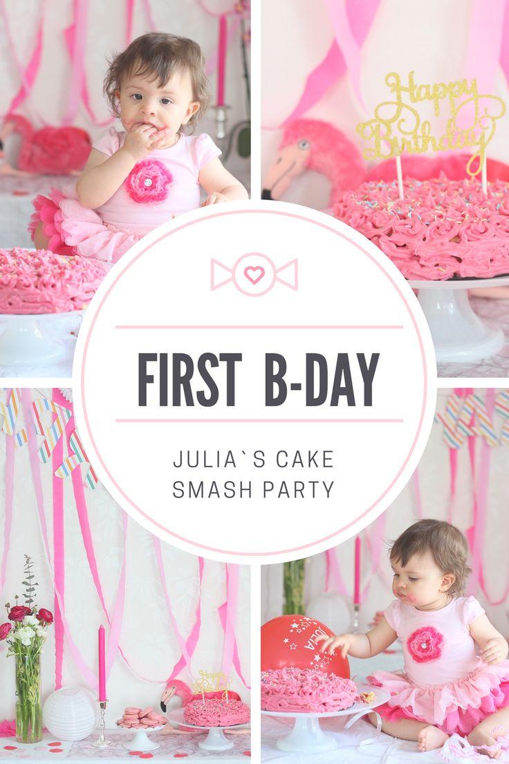Celebrating Julia's First Year Birthday