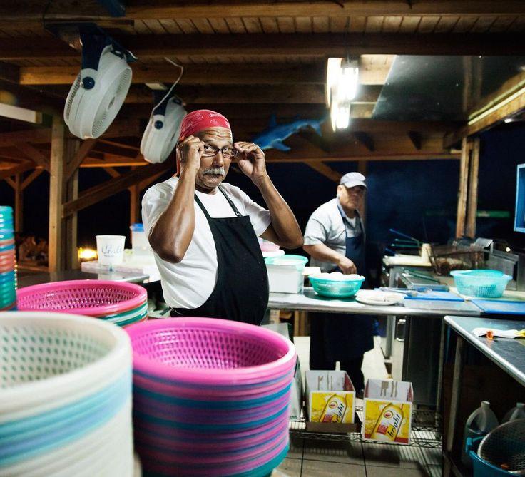 Fiskrestaurangen Zeerover på Aruba. Foto: Pernilla Sjöholm.