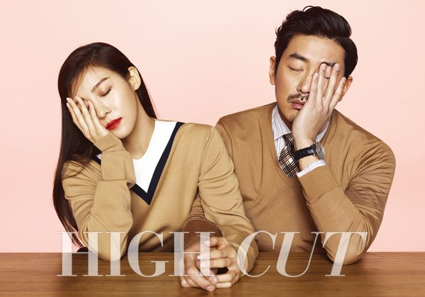 하이컷 - 패션, 뷰티, 대중문화 커뮤니티와 다채로운 이벤트 <HIGH CUT> vol.142 하지원+하정우 Ha Ji Won Ha Jung Woo