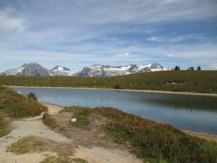 The Elfin lake, Squamish, BC, Canada, Fall, Hike