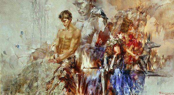 Художник Иван Славинский. Картина двадцать четвертая. Холст масло