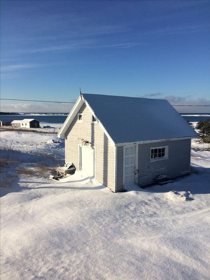 Home Sweet home ~ Blue Cove, Newfoundland.