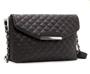 fashion brand for Women Messenger bag Small Crossbody chain bag woman handbag designer PU women leather handbags $11.16 (free shipping) Colour: Black or White
