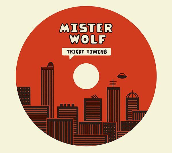 Mister Wolf Album Design on Behance