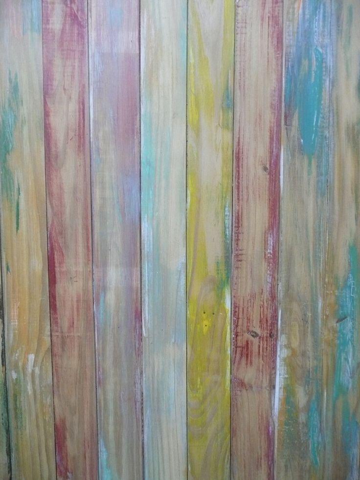 Mesa ratona rustica madera tablones reciclar reciclado - Llaves de luz rusticas ...
