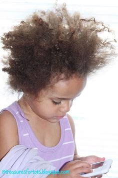 Great step by step for bi-racial hair! For those who have kids & don't know how to fix their hair!