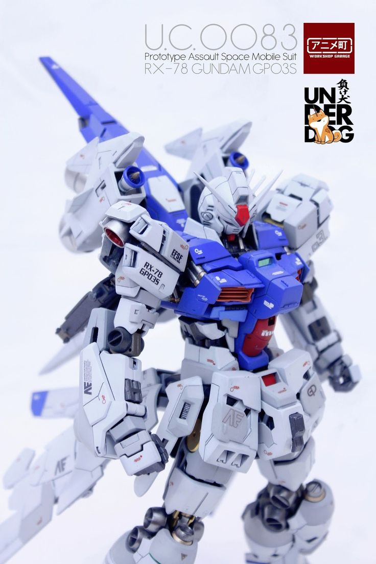 "Custom Build: MG 1/100 RX-78GP03S Gundam ""Dendrobium Stamen"" - Gundam Kits Collection News and Reviews"