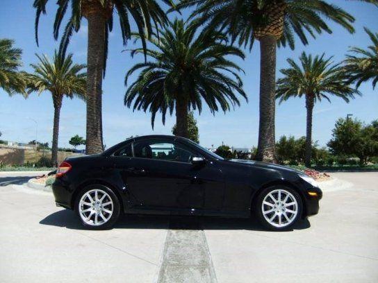 Convertible 2005 Mercedes Benz Slk 350 With 2 Door In San Diego