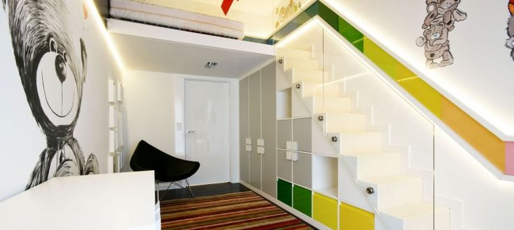 stairs in small spaces - Google Search