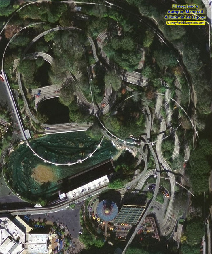 Disney Park Blueprints: Submarine Voyage - Disneyland, CA, USA