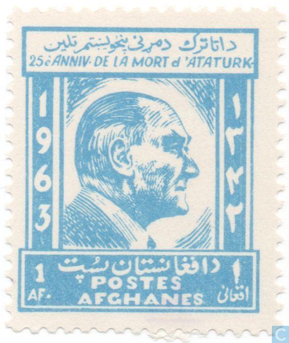 Postage Stamps - Afghanistan [AFG] - Ataturk