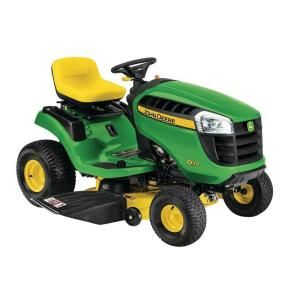 John Deere D110 42 in. 19 HP Hydrostatic Front-Engine Riding Mower BG20982 at The Home Depot - Mobile