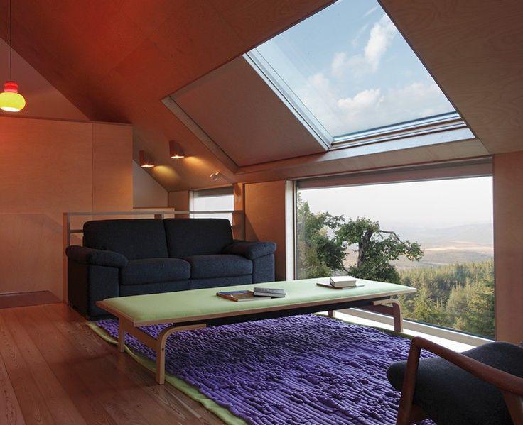 O hotel situa-se em pleno Parque Natural da Serra da Estrela.