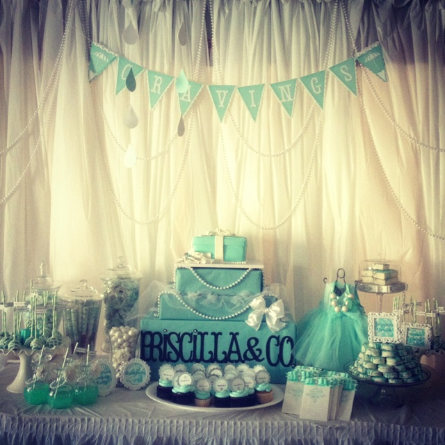 Tiffany And Co. Baby Shower Theme (The Color Is What I