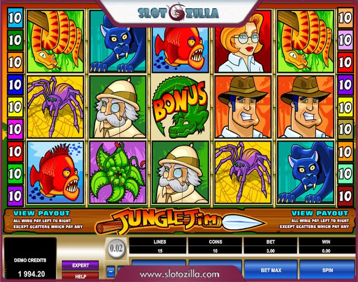 Neon Jungle Slot Machine - Play for Free Online Today