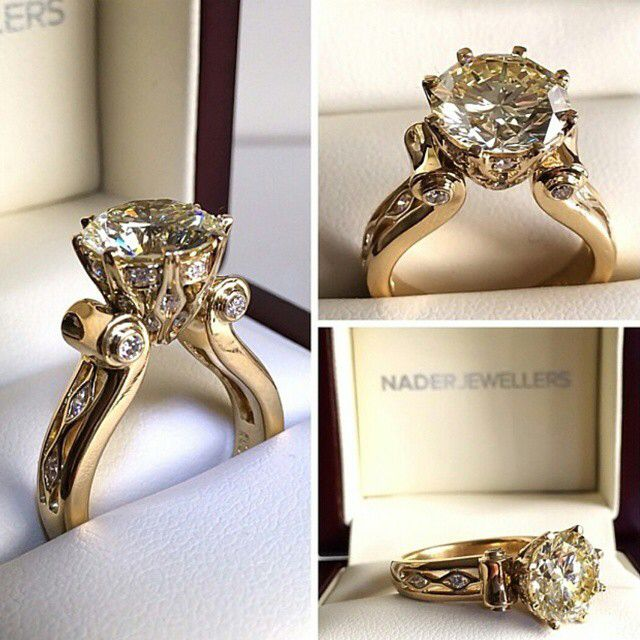 New Popular Rings For Newlyweds: Nader Jewellers