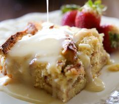 An Amazing and Easy Bread Pudding with Vanilla Cream Sauce Recipe for Those Who Love the Best That Baking Has to Offer