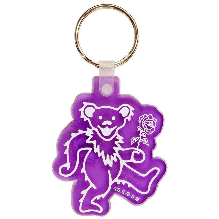 Grateful Dead - Dancing Bear Gel Keychain