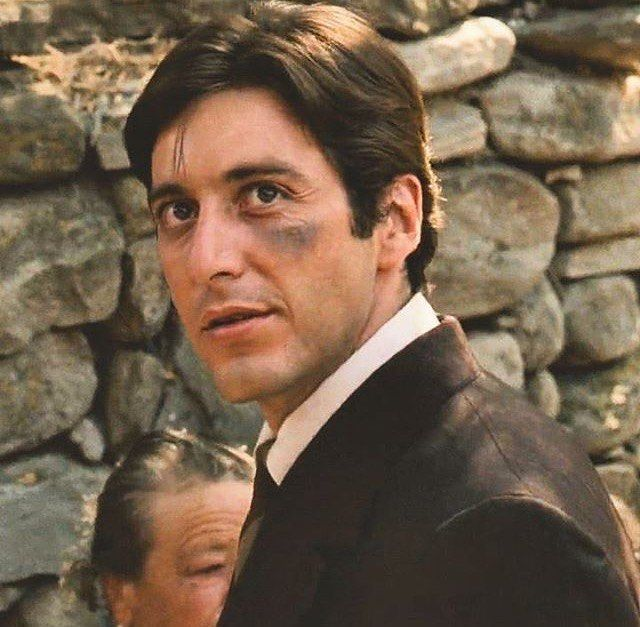 "403 curtidas, 3 comentários - Al Pacino (@official.alpacino_) no Instagram: ""Michael sees Apollonia #alpacino #michaelcorleone #godfather"""