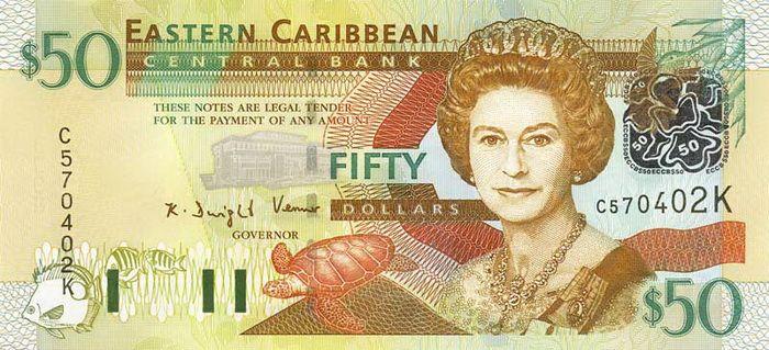 50 Долларов (2003) Британские Виргинские острова (British Virgin Islands) Северная Америка